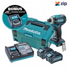 Makita TD001GM204 - 40V 4.0AhMax Cordless Brushless Impact Driver Kit Impact Drivers/Drills