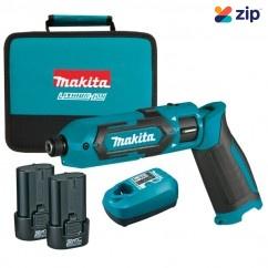 Makita TD022DSE - 7.2V 1.5Ah Impact Driver Kit Combo Kits up to 12v