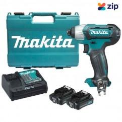 Makita TD110DSAE - 12V 2.0Ah Max Cordless Impact Driver Kit Cordless Drills - Impact