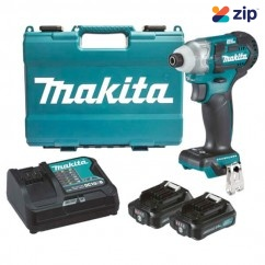 Makita TD111DSAE - 12V Max Cordless Brushless Impact Driver Kit Cordless Drills - Impact