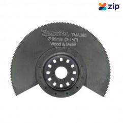 Makita TMA006 – 85mm Bi-Metal Multitool Segment Saw Blade B-21325 Makita Accessories