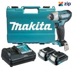 "Makita TW140DWYE - 12V 3/8"" Cordless Impact Wrench Kit Cordless Impact Wrenches Square Drive"