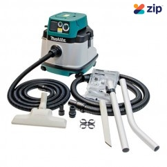 Makita VC2510LX1 - Wet & Dry L Class Vacuum Cleaner/Dust Extractor  Dust Extractors for Power Tools