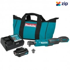 Makita WR100DWA - 12V Max CXT Cordless Brushless Ratchet Wrench Kit Ratchets