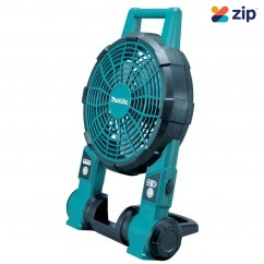 Makita DCF201Z 18V Cordless Fan Skin Inc 240v Power Adapter Floor Fans & Ventilators