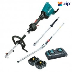 Makita DUX60PHPT2 - 18Vx2 Brushless Cordless Multi-Function Power Head w/ Hedge Trimmer Attachment Kit Hedge Trimmers
