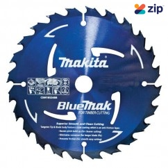 Makita B-15073 - 165x20mm 24T BLUEMAK Saw Blade for Cordless Circular Saws Makita Accessories
