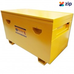 Mako TOB-SB2 - 1220x760x840mm Steel Yellow Heavy Duty Site Box Tool Boxes & Chests