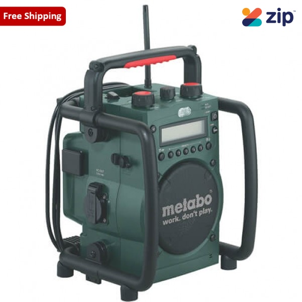 Metabo RC 14.4-18 - 18V Cordless JobSite Radio-Charger Skin 602106190 Batteries & Chargers