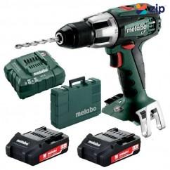 Metabo SB 18 LT Compact - 18V 2.0Ah Cordless Hammer Drill Kit 602103510 Hammer Drills