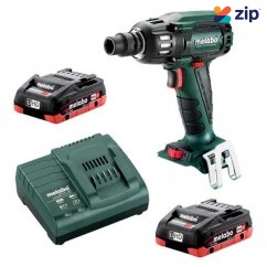 "Metabo SSW 18 LTX 400 BL 4.0 K - 18V 1/2"" Impact Wrench 130-400Nm 4.0Ah LiHD Kit  (AU60220540)"