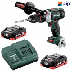 Metabo SB 18 LTX-3 BL I 4.0 K - 18V 3 Speed Hammer Drill/Screwdriver 120Nm 4.0Ah LiHD Kit  (AU60235640)