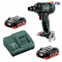 "Metabo SSW 18 LTX 300 BL 4.0 K - 18V 1/2"" Impact Wrench 300Nm 4.0Ah LiHD Kit (AU60239540)"