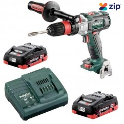 Metabo GB 18 LTX BL Q I 4.0 K - 18V 2 Speed 120Nm Tapper Drill (Quick Chuck) 4.0Ah LiHD Kit (AU60382740) Hammer Drills