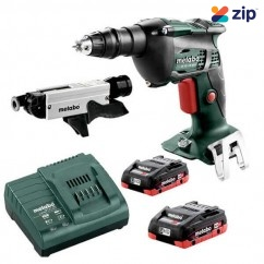 Metabo SE 18 LTX 4000 4.0 K - 18V Screwdriver 4000rpm with Magazine 4.0Ah LiHD Kit (AU62004840)