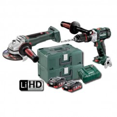Metabo SB WB 125 BL M HD 4.0 Kit - 18V 2-Piece Brushless 4.0 Ah LiHD Combo Kit (AU68901780)