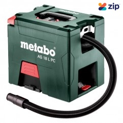 Metabo AS 18 L PC - 18V Cordless Vacuum Cleaner Skin 602021850