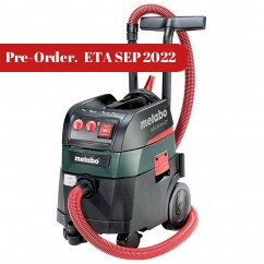 Metabo ASR 35 M ACP - 240V 35L 1400W M-Class Wet/Dry Vacuum Cleaner 602058190 Dust Extractors for Power Tools