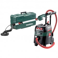 Metabo LSV5-225COMFORT+ASR35MACPSETKIT - 240V 500W M Class Dry Wall Vacuum Sander Kit AU60013620 240V Sanders - Gyprock