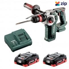 Metabo KHA 18 LTX BL 24 Q 4.0 K - 18V Rotary Hammer Drill 3 Mode Quick 4.0Ah LiHD Kit (AU60021140)