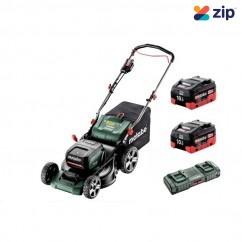 Metabo RM 36-18 LTX BL 46 K - 18Vx2 (36V) 10.0Ah Cordless Brushless Lawn Mower Kit AU60160600 Mowers