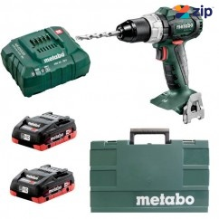 Metabo SB 18 LT BL PC 4AH - 18V Cordless Brushless Hammer Drill Kit
