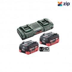 Metabo 10.0 LiHD DUO KIT - 12 - 36V 10.0Ah ASC 145 DUO Fast Charger Starter Kit AU62749810