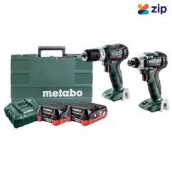 Metabo SB SSD 12 BL PC 2.0 - 12V 2.0Ah 2 Piece Cordless Brushless Combo Kit AU66200120