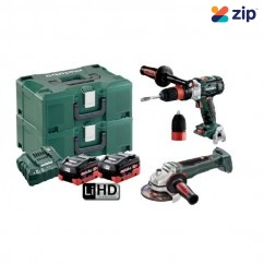 Metabo GB WB 125 BL M HD 5.5 - 18V 5.5Ah 2 Piece Cordless Brushless Combo Kit AU68200550