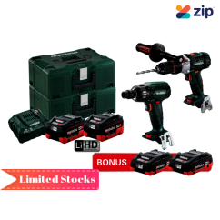 Metabo SB SSW 400 BL M HD 5.5 + 4.0 - 18V 5.5Ah Brushless Cordless 2 Piece Combo Kit AU68203554 Combo Kits 18v