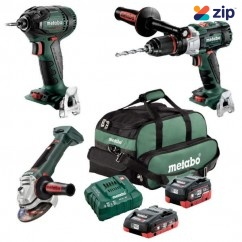 Metabo BL3SB2HD455D - 18V 4.0/5.5Ah Cordless Brushless 3 Piece Combo Kit AU68300455 Combo Kits 18v