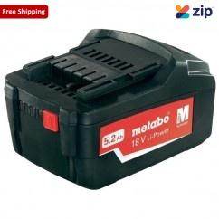 Metabo 5.2 Li - 18V 5.2AH Li-Power Battery 321000350