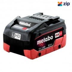 Metabo 8.0 LiHD - 18V 8.0Ah LiHD Battery Pack 625369000 Batteries & Chargers