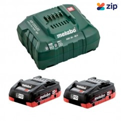 Metabo 4.0 LiHD KIT - 18V 4.0Ah LiHD Battery Charger Kit AU32100100 Batteries & Chargers