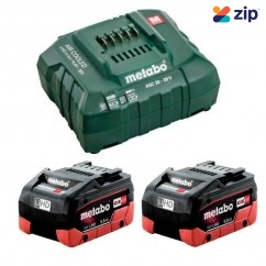 Metabo 5.5 LiHD KIT - 18V 5.5Ah LiHD Battery Charger Kit AU32100104 Batteries & Chargers