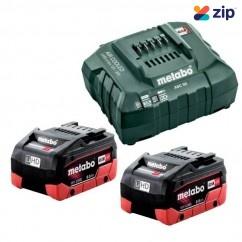 Metabo 8.0 LiHD KIT - 18V 8.0Ah LiHD Battery Charger Kit AU32100800