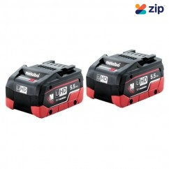 Metabo 5.5 LiHD-TWIN - 18V 5.5AH LiHD Battery Twin Pack AU32102550TP Batteries