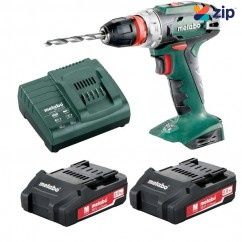 Metabo BS 18 Quick K - 18V 48Nm Cordless Drill/Screwdriver Kit 602217590