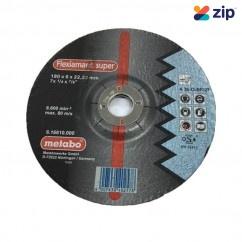 Metabo AGW180X6X22 - 180MM INOX Grinding Wheel 616610000 Metabo Accessories