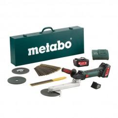 Metabo KNS 18 LTX 150 SET - 18V Cordless Fillet Weld Grinder Kit Cordless Grinders - Fillet Weld