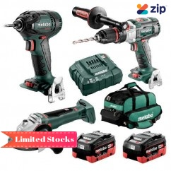 Metabo BL3SB2HD5.5X - 18V 5.5Ah Brushless Cordless 3 Piece Combo Kit AU68306055