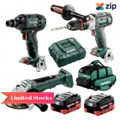 Metabo BL3SB2HD5.5AA - 18V 5.5Ah Brushless Cordless 3 Piece Combo Kit AU68306355