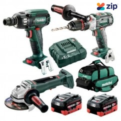 Metabo BL3SB2HD5.5AC - 18V 5.5Ah Brushless Cordless 3 Piece Combo Kit AU68306655