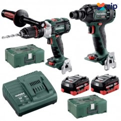 Metabo SB SSW 300 BL M HD 5.5 - 18V 5.5Ah Brushless Cordless 2 Piece Combo Kit AU68901955