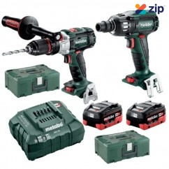 Metabo SB SSW 400 BL M HD 5.5 - 18V 5.5Ah Brushless Cordless 2 Piece Combo Kit AU68902055