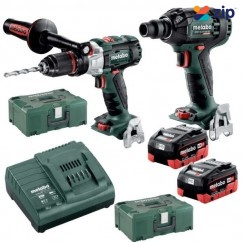 Metabo SB SSW 300 BL M HD 8.0 - 18V 8.0Ah Brushless Cordless 2 Piece Combo Kit AU68902480