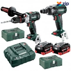 Metabo SB SSW 400 BL M HD 8.0 - 18V 8.0Ah Brushless Cordless 2 Piece Combo Kit AU68902580