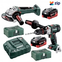 Metabo SB WB 125 BL M HD 8.0 - 18V 8.0Ah Brushless Cordless 2 Piece Combo Kit AU68902680