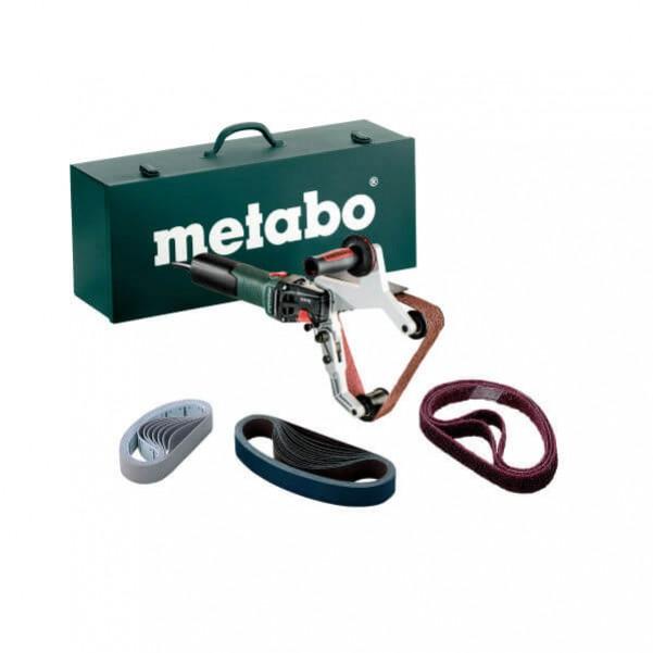 Metabo RBE 15-180 Set - 240V 1550W Tube Belt Sander 602243500