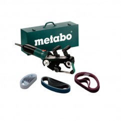 Metabo RBE 9-60 Set - 240V 900W Tube Belt Sander 602183510